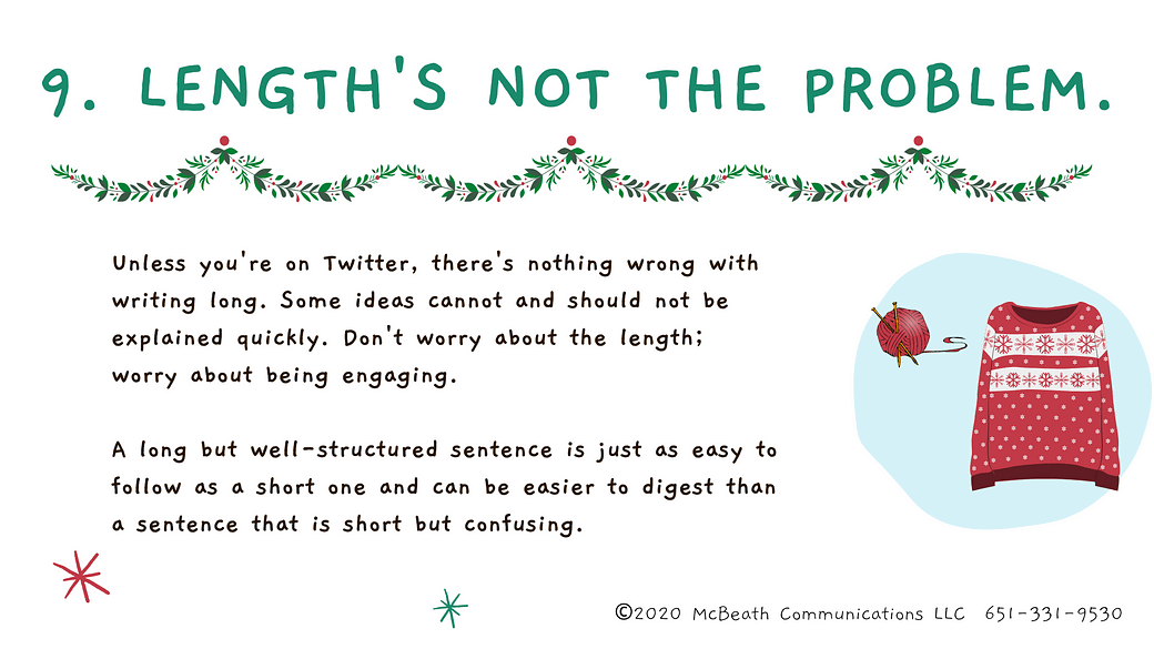 Length's not the problem